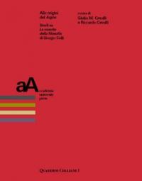 Copertina libro: Alle origini del logos. Studi su La nascita della filosofia di