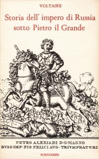Copertina libro Storia dell'impero di Russia sotto Pietro il Grande
