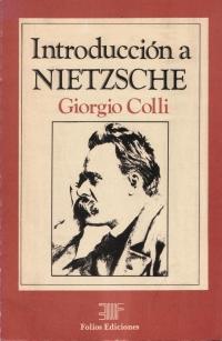 Introducción a Nietzsche