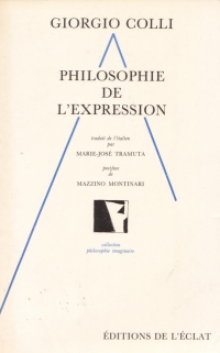 Philosophie de l'expression