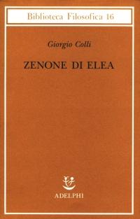 Zenone di Elea : lezioni 1964-1965
