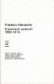 Copertina libro Frammenti postumi : 1869-1874 - Parte prima