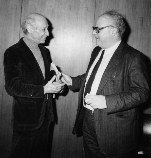 Alessandro Fersen con Montinari