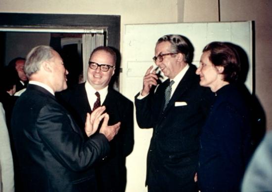 Holzhauer, Montinari, Colli e Anna Musso-Colli