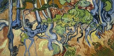 "Vincent Van Gogh (1853-1890), ""Radici d'albero"" (1890). Van Gogh Museum, Amsterd"