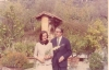 Giorgio e Anna Maria nel giardino nella casa di San Domenico